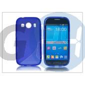 Samsung sm-g357fz galaxy ace 4 szilikon hátlap - s-line - kék PT-2108
