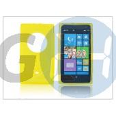 Nokia lumia 1020 szilikon hátlap - s-line - sárga PT-1329