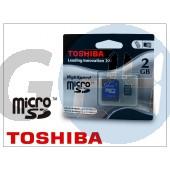 2 gb microsd™ class 4 memóriakártya+sd-adapter GR-501