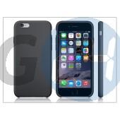 Apple iphone 6 eredeti gyári szilikon hátlap - mgqf2zm/a - black APL-0165