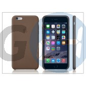 Apple iphone 6 plus eredeti gyári bőr hátlap - mgqr2zm/a - brown APL-0152
