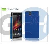 Sony xperia z (c6603) hátlap - case-mate tough - blue/grey CM026446