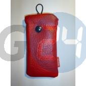 6300 gombos bőr piros 6300  E000171