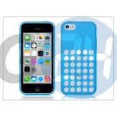 Apple iphone 5c eredeti gyári hátlap - mf035zm/a - blue APL-0102
