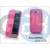 Samsung i8730 galaxy express flipes tok - kalaideng enland series - dark pink KD-0042
