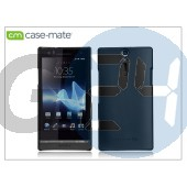 Sony xperia s (lt26i) hátlap - case-mate barely there - black CM020245