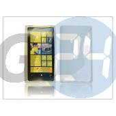 Nokia lumia 920 szilikon hátlap - s-line - átlátszó PT-871