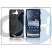Sony xperia u (st25i) szilikon hátlap - s-line PT-526