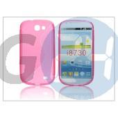 Samsung i8730 galaxy express szilikon hátlap - s-line - pink PT-1181