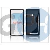 Nokia lumia 900 szilikon hátlap - s-line - fekete PT-673