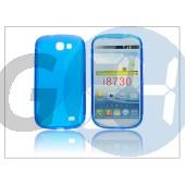 Samsung i8730 galaxy express szilikon hátlap - s-line - kék PT-1180