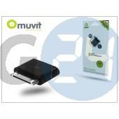 Apple iphone 2/3g/3gs/4/4s/ipad/ipad2/ipad3 30 pólusú csatlakozó - micro usb adapter - muvit micro adapter I-MUADP0002