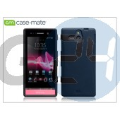 Sony xperia u (st25i) hátlap - case-mate emerge smooth - black CM020769