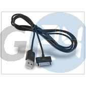Apple iphone 2g/3g/3gs/4/4s/ipad/ipad2/ipod usb töltő- és adatkábel 150 cm-es vezetékkel - fekete H003
