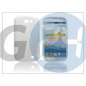Samsung i8730 galaxy express szilikon hátlap - s-line - fehér PT-1179