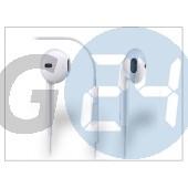 Apple iphone 3g/3gs/4/4s/5 távirányítós, sztereó headset mikrofonnal - fehér - utángyártott MS-200