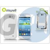 Samsung i8730 galaxy express hátlap - muvit minigel - white I-MUSKI0236