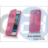 Samsung i8260 galaxy core flipes tok - kalaideng enland series - dark pink KD-0050