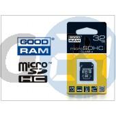 32 gb microsdhc™ class 4 memóriakártya + sd adapter GR-020