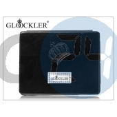 Apple ipad2/ipad3 valódi bőrtok - glööckler function carat - black PJ12014