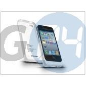 Apple iphone 4/4s akkumulátoros hátlap - 1900 mah - fehér EX-429