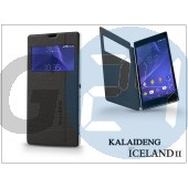 Sony xperia t3 (d5103) flipes tok - kalaideng iceland 2 series view cover - black KD-0310