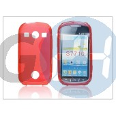 Samsung s7710 galaxy xcover 2 szilikon hátlap - s-line - piros PT-1821