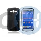 Samsung sm-g7102/g7105 galaxy grand 2 szilikon hátlap - s-line - fekete PT-1746