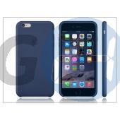 Apple iphone 6 plus eredeti gyári bőr hátlap - mgqv2zm/a - blue APL-0151