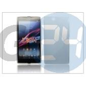 Sony xperia z ultra (c6802) szilikon hátlap - s-line - fehér PT-1138