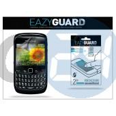 Blackberry 8520 képernyővédő fólia - 2 db/csomag (crystal/antireflex) LA-052