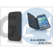 Samsung i8260 galaxy core flipes tok - kalaideng iceland series - black KD-0068