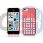 Apple iphone 5c eredeti gyári hátlap - mf036zm/a - pink APL-0104