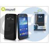 Samsung sm-g357fz galaxy ace 4 hátlap - muvit minigel - black I-MUSKI0399