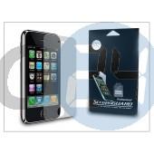 Apple iphone 3g/3gs képernyővédő fólia - frosted - 1 db/csomag DS-IPH390PF