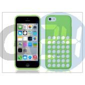 Apple iphone 5c eredeti gyári hátlap - mf037zm/a - green APL-0103