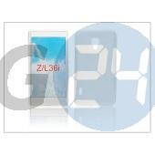 Sony xperia z (c6603) szilikon hátlap - clear PT-1170