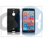 Nokia lumia 1520 szilikon hátlap - s-line - fekete PT-1487