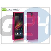 Sony xperia z (c6603) hátlap - case-mate tough - pink CM025833