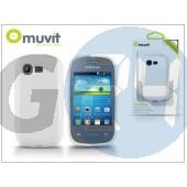 Samsung s5310 galaxy pocket neo hátlap - muvit minigel - white I-MUSKI0243
