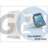 Samsung i8260 galaxy core flipes tok - kalaideng iceland series - white KD-0069