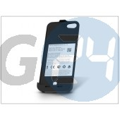 Apple iphone 5/5s/5c akkumulátoros hátlap - 2600 mah - fekete EX-420