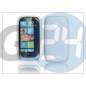 Nokia lumia 620 szilikon hátlap - s-line - fehér PT-867