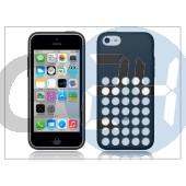 Apple iphone 5c eredeti gyári hátlap - mf040zm/a - black APL-0101
