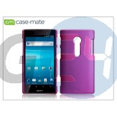 Sony xperia ion (lt28i) hátlap - case-mate barely there - pink CM020451