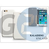 Apple iphone 6 flipes tok - kalaideng enland series - white KD-0277