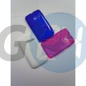Alcatel ot3040 tribe kék hullámos szilikontok OT3040  E004068