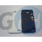 Alcatel 6034 - idol s fekete hullámos szilikontok OT6012  E005428