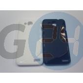 Alcatel 6034 - idol s fehér hullámos szilikontok OT6012  E005429