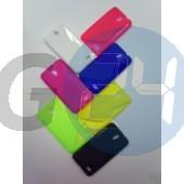 Alcatel ot6030 idol sárga hullámos szilikontok OT6030  E003974